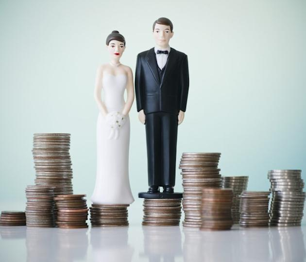 Couples often don't have the important money discussion before saying 'I do.'