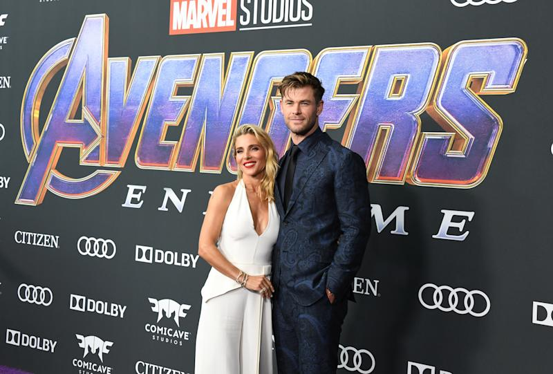 Thor actor Chris Hemsworth has revealed a first look inside his and wife Elsa Pataky's new Byron Bay mansion.