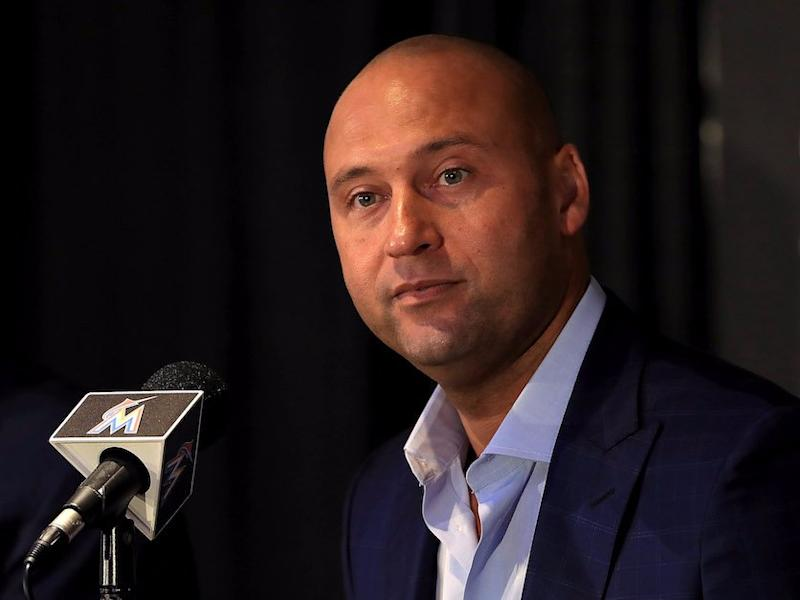 Derek Jeter actually won't actually fire Marlins icons, report says