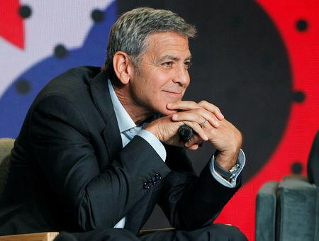"""Director George Clooney attends a news conference to promote the film """"Suburbicon"""" at the Toronto International Film Festival (TIFF) in Toronto, Canada, September 10, 2017.    REUTERS/Fred Thornhill"""