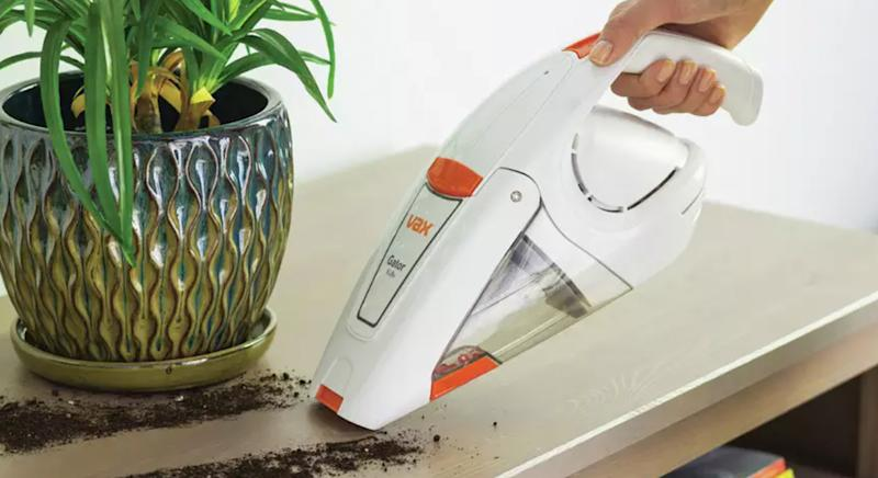 This Vax cordless handheld vacuum cleaner garners rave reviews - and it's under £50. (Argos)