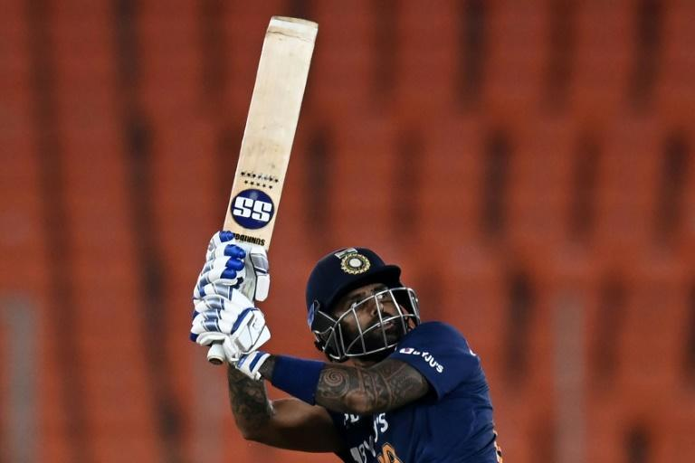 Suryakumar Yadav led India to a victory that levelled the series