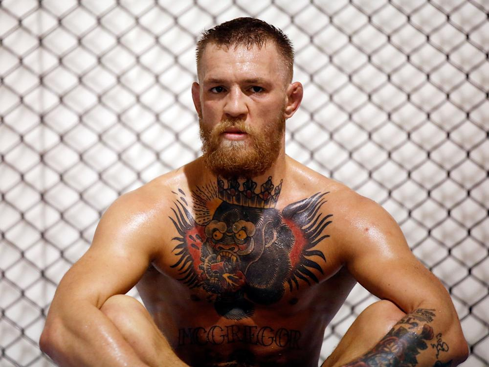 Reigning UFC Lightweight Champion McGregor is hoping to make his boxing debut: Getty