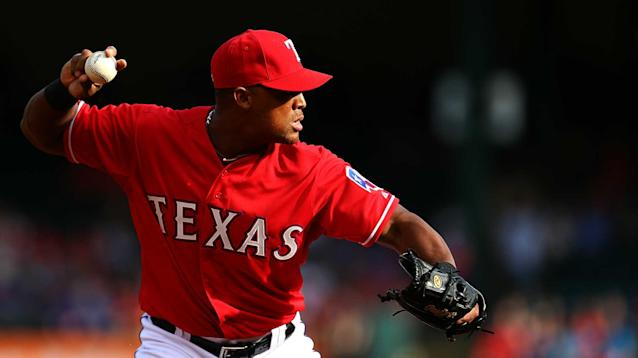 The Rangers might have to wait until the end of April for their star third baseman to return to the lineup.