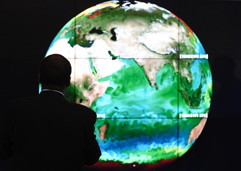 Concentrations of CO2 in the atmosphere today are higher than any time in the last three million years, and are increasing more rapidly than at any point in the last 66 million years (AFP Photo/ALAIN JOCARD)