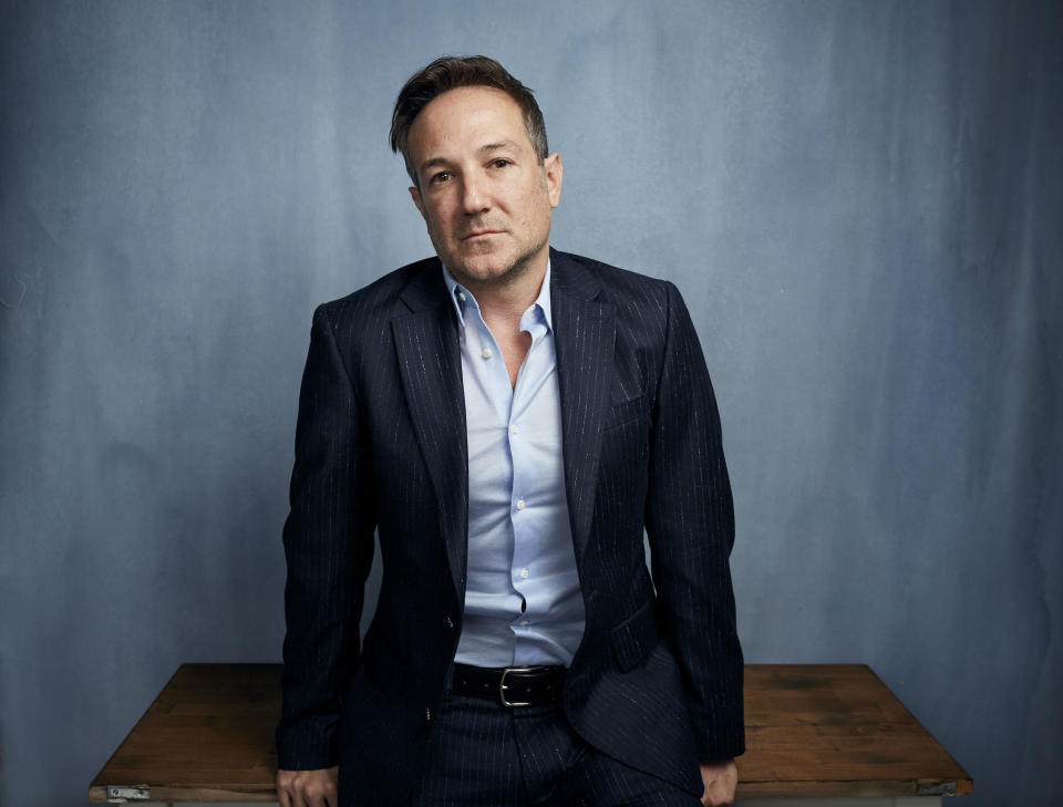 """FILE - Director Bryan Fogel poses for a portrait to promote """"The Dissident,"""" a film about slain journalist Jamal Khashoggi, during the Sundance Film Festival in Park City, Utah on Jan. 24, 2020. (Photo by Taylor Jewell/Invision/AP, File)"""