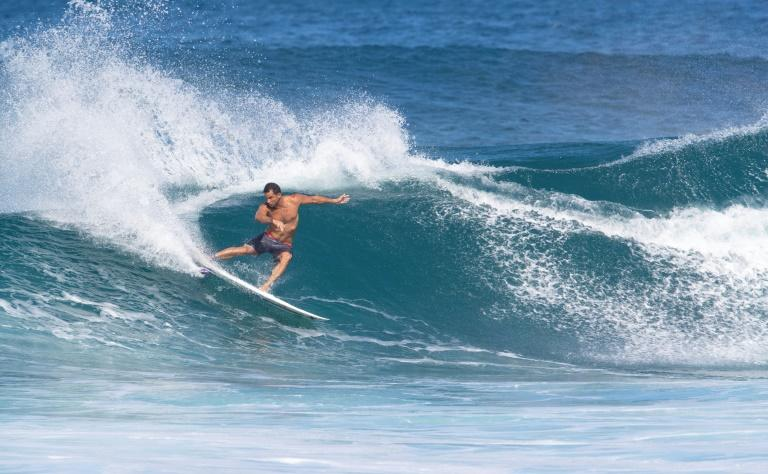 Tahiti is a regular stop on the World Surf League circuit