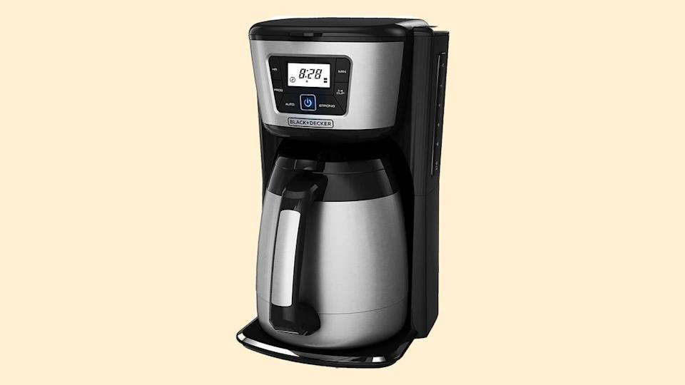 Gifts for college-bound students: Black & Decker coffee maker