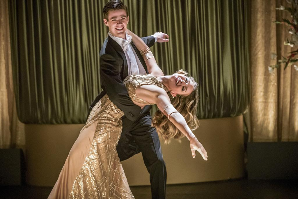 <p>Grant Gustin as Barry Allen and Melissa Benoist as Kara in The CW's The Flash.<br /><br />(Credit: Katie Yu/The CW) </p>