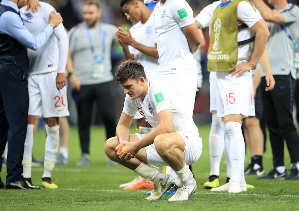 English hearts were broken after their 2-1 loss to Croatia in the World Cup 2018 semi-final PHOTO: Huffpost UK