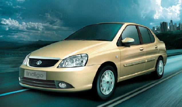 Yellow Tata Indigo