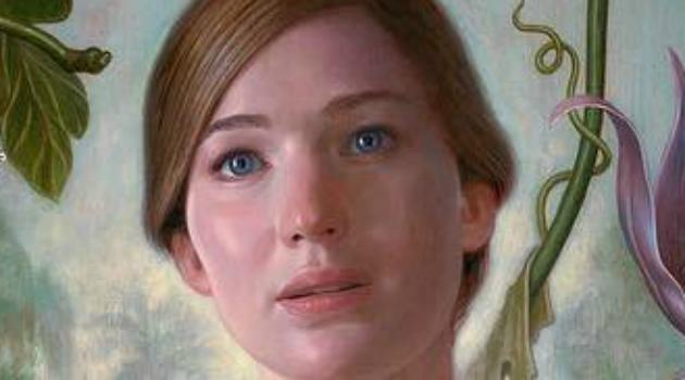 Eeek... the first poster for Darren Aronofsky's Mother!, featuring Jennifer Lawrence, is a shocker - Credit: Paramount