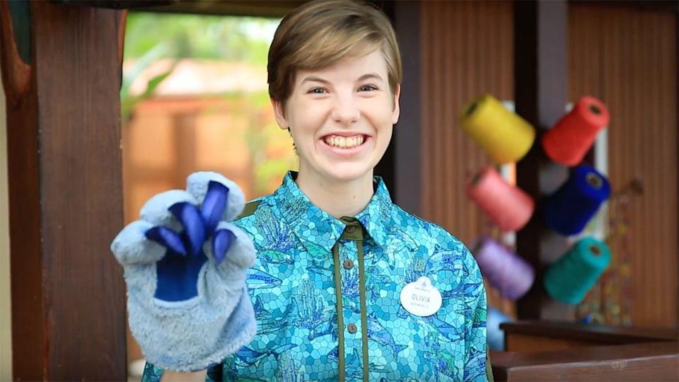 <p>Name tags are a must with every cast member's uniform. If by chance they lose it, they wear one from a gender-neutral batch while they await the arrival of their new one.</p>