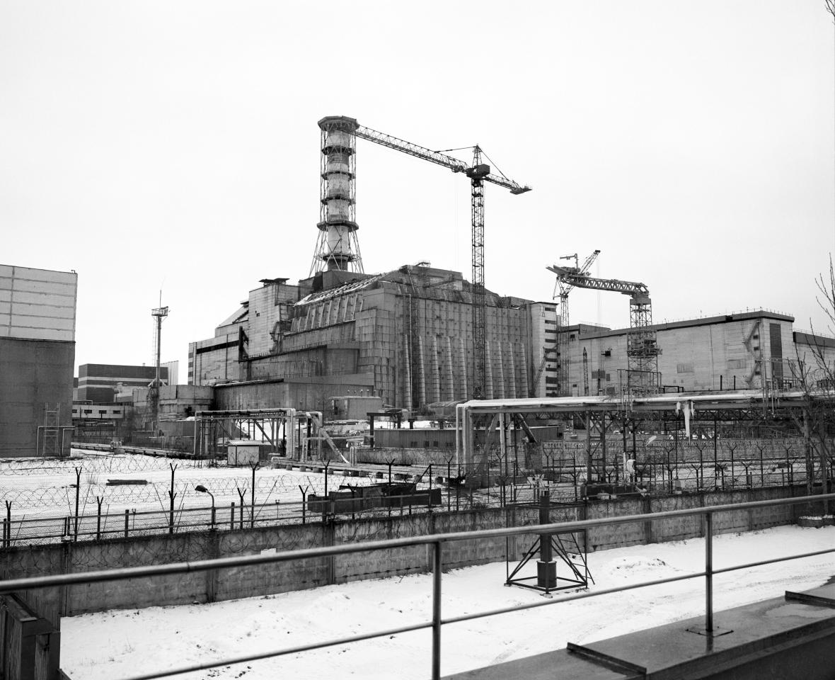 CHERNOBYL, UKRAINE - JANUARY 2006: On 26th April, 1986, at 1.23am the world's worst nuclear disaster happened at Reactor Number 4 (pictured) at Chernobyl nuclear power station in northern Ukraine. 190 tons of highly radioactive material were released into the atmosphere destroying the lives and land of millions of people.  The explosion exposed the people around Chernobyl to radiation 90 times greater than from the Hiroshima bomb. The UN estimates that 9 million people, including 4 million children, are affected by the disaster.  Radiation specialists expect nearly 1 million people to develop cancer as a direct result of the accident. In Belarus, next door to Ukraine, almost 400,000 people have been forced to leave their homes and become  environmental refugees as a result of the contamination left by the explosion.  Around 2,000 towns and villages have been abandoned and  become a radioactive desert, overgrown with poisoned vegetation and fenced off by barbed wire.  20 years after the disaster 99% of the land in Belarus is contaminated. 25% of Belarusan farmland is a nuclear wasteland. Thyroid cancer has increased by 2,400%. Congenital birth defects have increased by 250% and there has been a 1,000% increase in suicides in the contaminated areas. (Photo by Tom Stoddart/Exclusive by Getty Images)