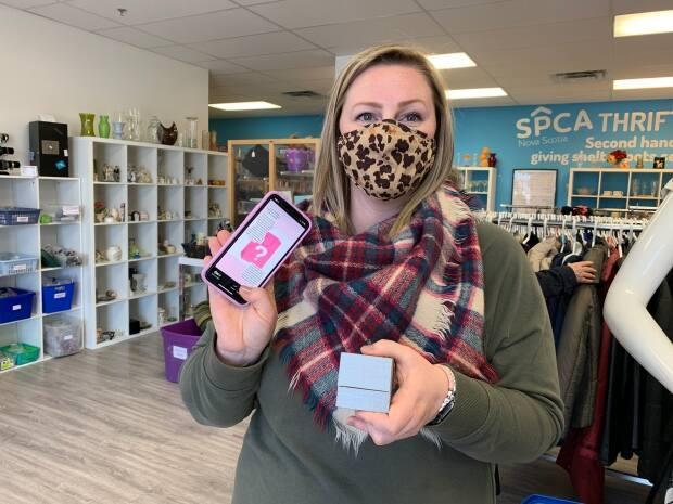 Courtney Barber, the SPCA's provincial director of retail operations and branding, said she was overwhelmed by the response she got about the ring.