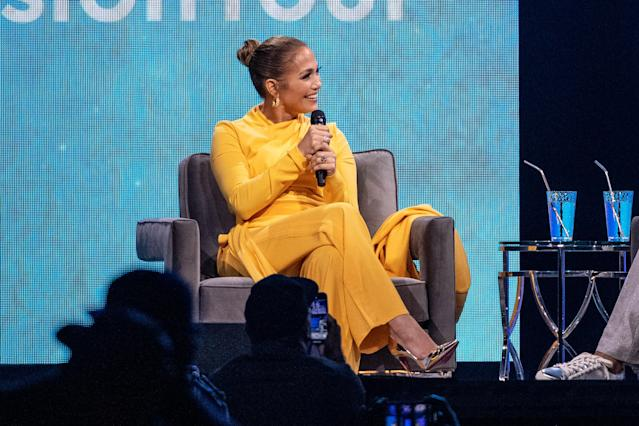 Jennifer Lopez spoke to Oprah Winfrey during the Oprah's 2020 Vision: Your Life in Focus Tour and touched on her Oscars snub. (Photo: Emma McIntyre/Getty Images)