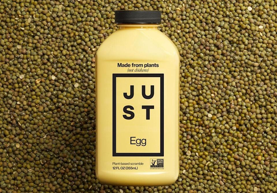 East Just's egg substitute is made entirely from plants. Photo: Facebook