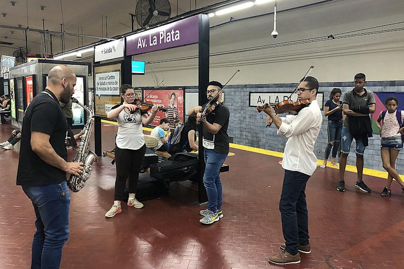 These musicians fled home – but brought the music with them