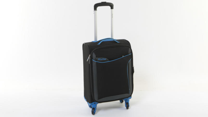 Aldi's $40 Skylite 56cm Spinner Carry On case