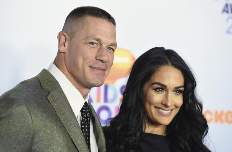 John Cena proposes to Nikki Bella in the ring