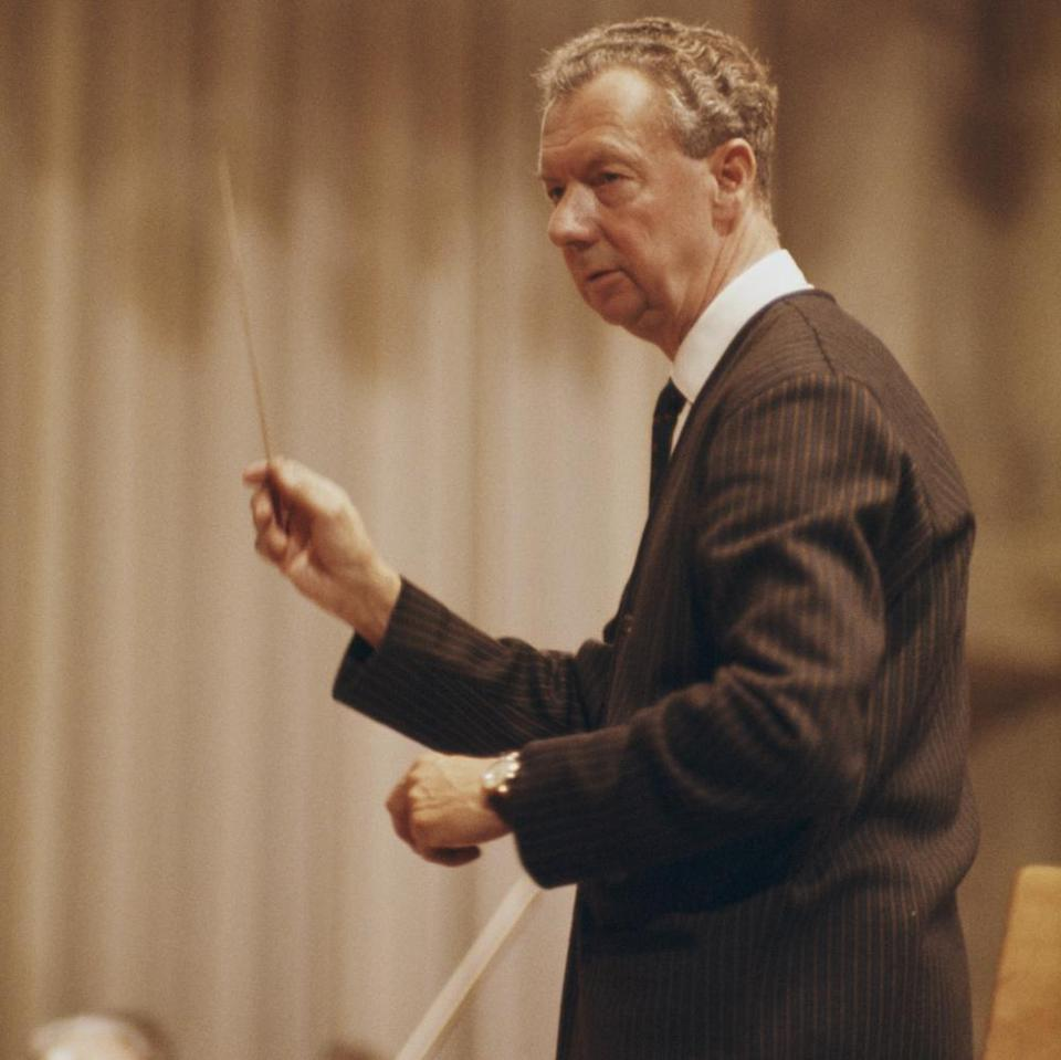 Britten, photographed in the mid 1960s