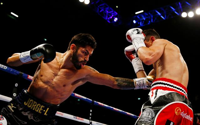 <span>Linares won the pair's last fight on points</span> <span>Credit: reuters </span>