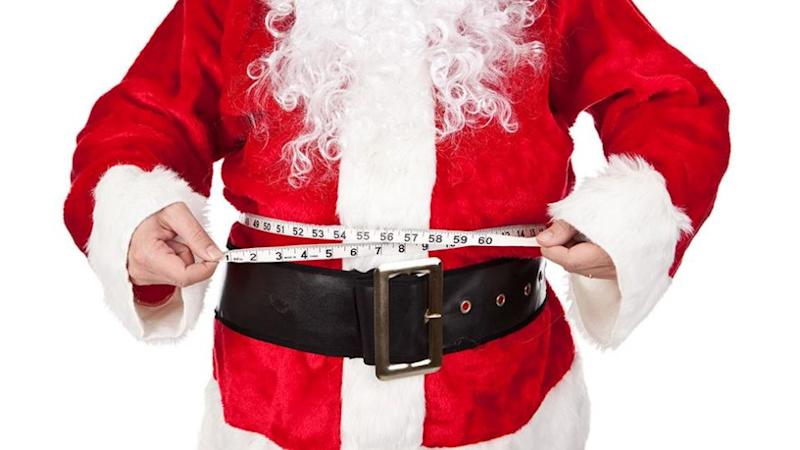 Santa is known for his rotund belly. Photo: iStock