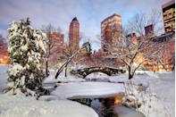 "<p>There's nothing like wintertime at Central Park, where you can enjoy the gorgeous (and hopefully snow-covered) natural splendor against the backdrop of the city. You'll love partaking in <a href=""https://www.centralpark.com/things-to-do/sports/sledding/"" rel=""nofollow noopener"" target=""_blank"" data-ylk=""slk:sledding"" class=""link rapid-noclick-resp"">sledding </a>and other winter activities, taking a romantic <a href=""https://www.centralpark.com/things-to-do/activities/horse-drawn-carriages/"" rel=""nofollow noopener"" target=""_blank"" data-ylk=""slk:horse-drawn carriage ride"" class=""link rapid-noclick-resp"">horse-drawn carriage ride</a> or simply strolling through the park (with a hot chocolate in hand, of course). <br></p><p><strong>RELATED: </strong><a href=""https://www.goodhousekeeping.com/life/g34313699/best-winter-activities/"" rel=""nofollow noopener"" target=""_blank"" data-ylk=""slk:The 25 Best Winter Activities to Keep Yourself Occupied"" class=""link rapid-noclick-resp"">The 25 Best Winter Activities to Keep Yourself Occupied</a></p>"