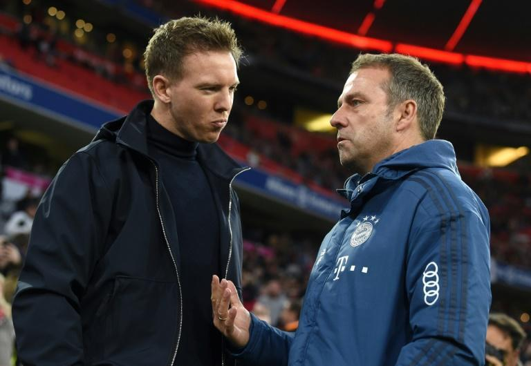 Tough act to follow: Nagelsmann replaces all-conquering Hansi Flick at Bayern