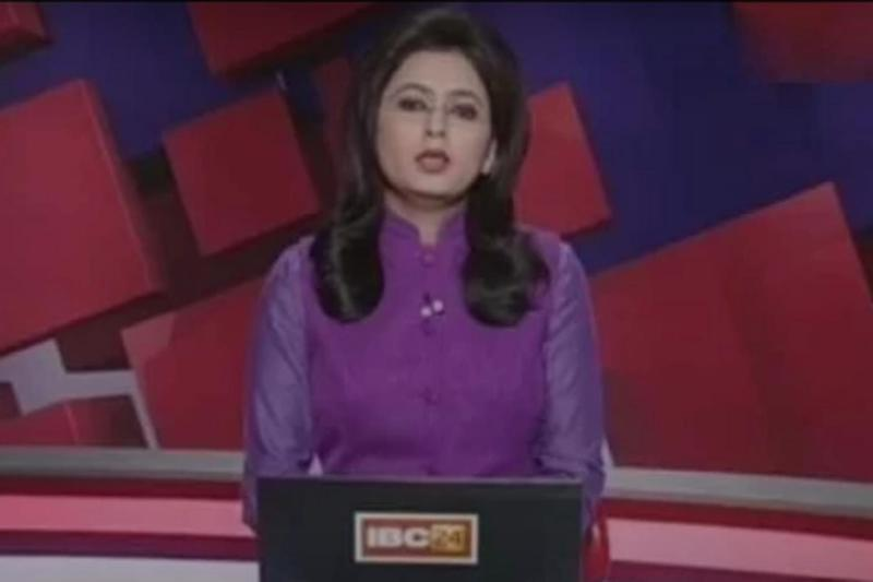 Tragic: News reader Supreet Kaur carried on presenting for ten minutes: Youtube