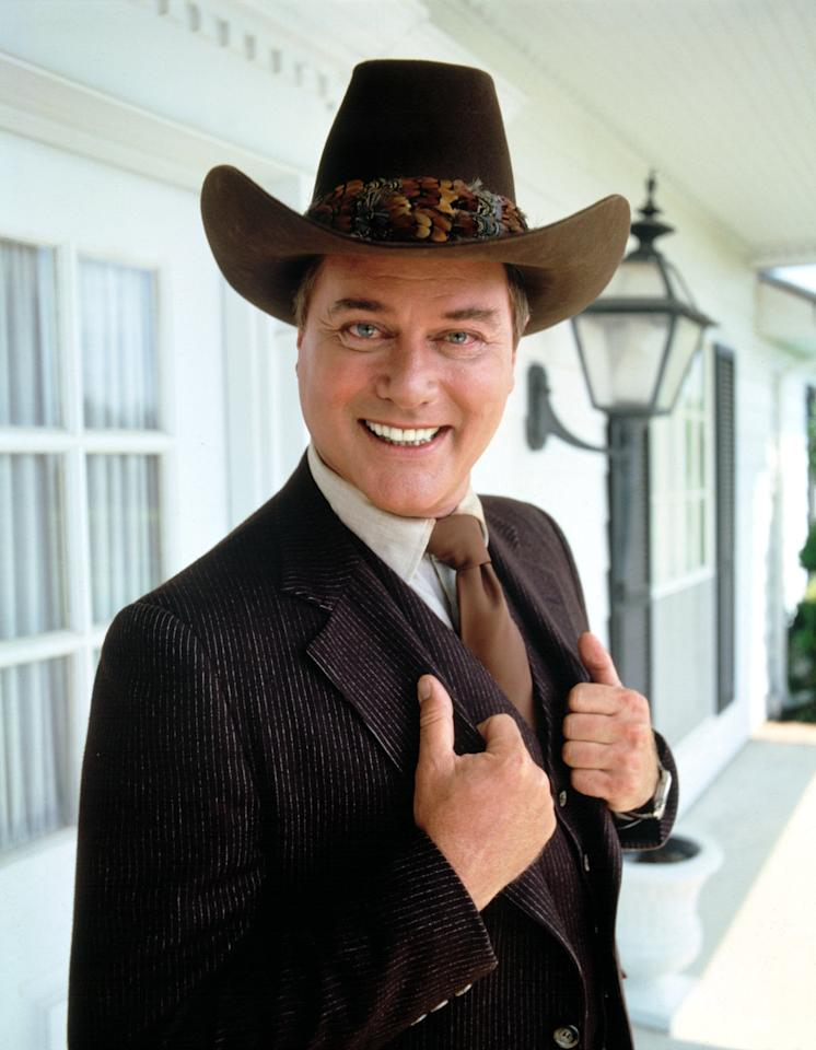 No Merchandising. Editorial Use Only. No Book Cover Usage Mandatory Credit: Photo by Everett Collection / Rex USA (207886v) DALLAS, Larry Hagman - 1978 - 1991 LARRY HAGMAN