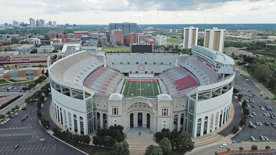 Tickets for the Ohio State spring game at Ohio Stadium cost $5, and a public sale of approximately 4,500 seats will begin at 11 a.m. Monday.