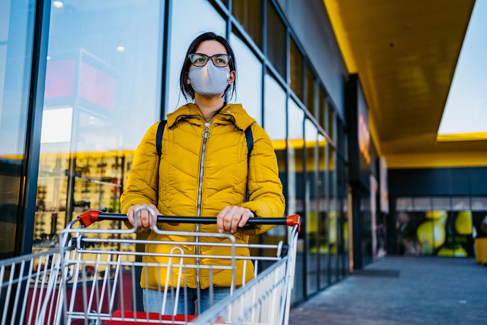 Lots of new information came out about COVID-19 in the last month, including a CDC report that says face masks protect the wearer, not just others. (Photo: urbazon via Getty Images)