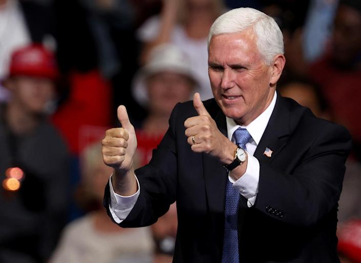 Vice President Mike Pence. (Win McNamee/Getty Images)