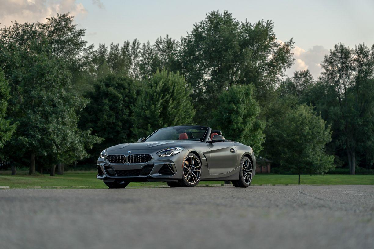 """<p>It's for the best that the <a href=""""https://www.caranddriver.com/reviews/a21054301/2020-bmw-z4-m40i-prototype-drive-review/"""" target=""""_blank"""">2020 BMW Z4</a> convertible, particularly in six-cylinder M40i guise, is essentially a decapitated <a href=""""https://www.caranddriver.com/toyota/supra"""" target=""""_blank"""">2020 Toyota Supra</a>, a car that was co-developed with the BMW and shares virtually all of its mechanical identity. Read the full story <a href=""""https://www.caranddriver.com/reviews/a29106841/2020-bmw-z4-m40i-by-the-numbers/"""" target=""""_blank"""">here</a>.</p>"""