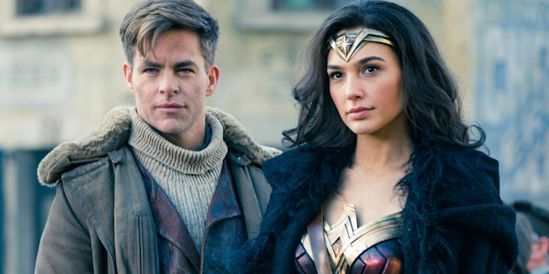 "Chris Pine admitted this hilarious scene in ""Wonder Woman"" was actually improvised"