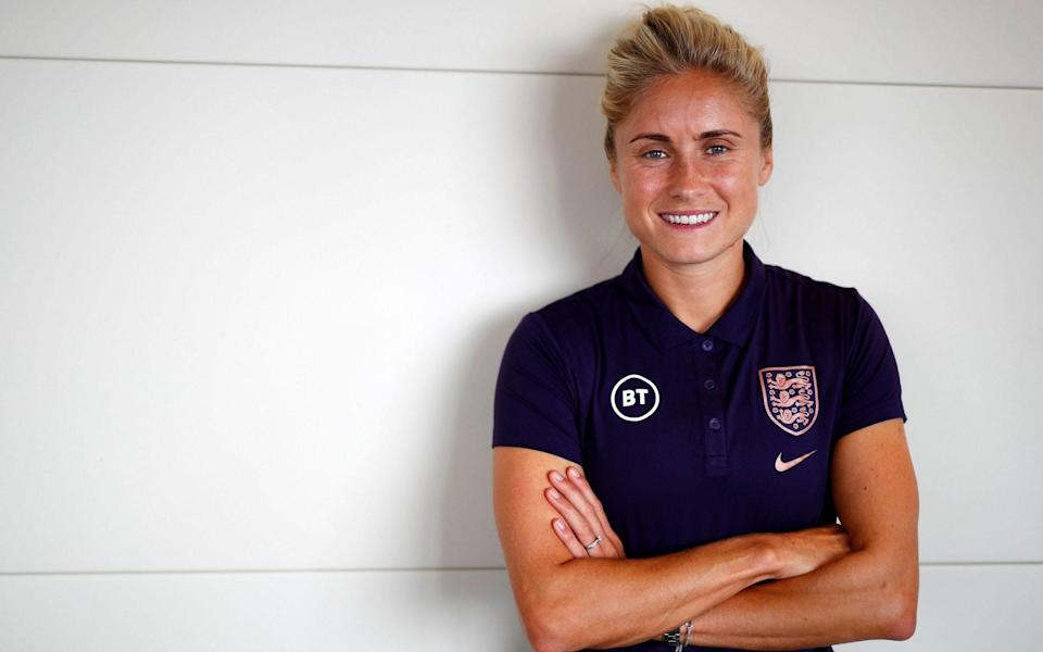 Steph Houghton: 'I'm a bit of a geek when it comes to training' - Rex