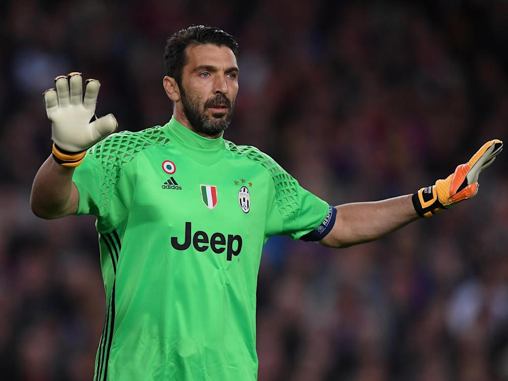 Buffon has never won the Champions League but been to two finals: Getty