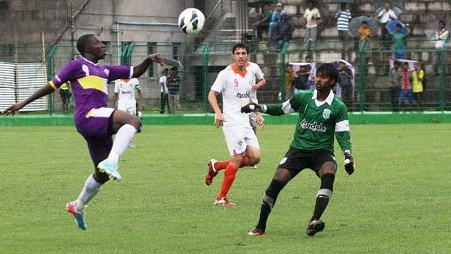 The Nigerian has having a goal drought Photo Credit: AIFF Media