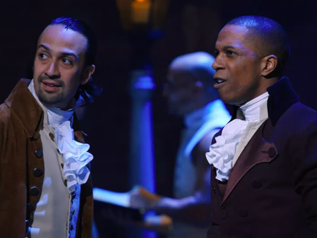 Some have criticised 'Hamilton' for failing to acknowledge the lead character owned slaves (Disney Plus)