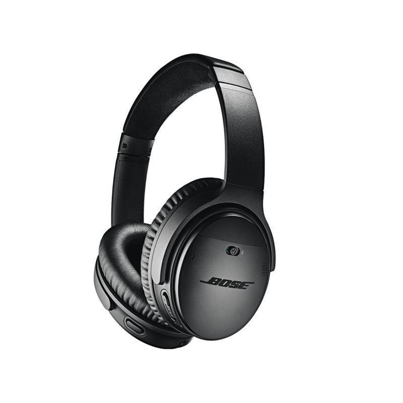 """<p><strong>Bose</strong></p><p>amazon.com</p><p><strong>$299.00</strong></p><p><a href=""""https://www.amazon.com/dp/B0756CYWWD?tag=syn-yahoo-20&ascsubtag=%5Bartid%7C10055.g.399%5Bsrc%7Cyahoo-us"""" rel=""""nofollow noopener"""" target=""""_blank"""" data-ylk=""""slk:Shop Now"""" class=""""link rapid-noclick-resp"""">Shop Now</a></p><p>You can't go wrong with a pair of Bose noise-canceling headphones — and now they're wireless! These ones won our roundup for<a href=""""https://www.goodhousekeeping.com/electronics/headphone-reviews/g22605748/best-wireless-headphones/?slide=1"""" rel=""""nofollow noopener"""" target=""""_blank"""" data-ylk=""""slk:best wireless headphones"""" class=""""link rapid-noclick-resp""""> best wireless headphones</a>, had the top-ranked sound quality in the GH Institute's test, <em>and</em> they were rated comfiest by our testers.</p>"""