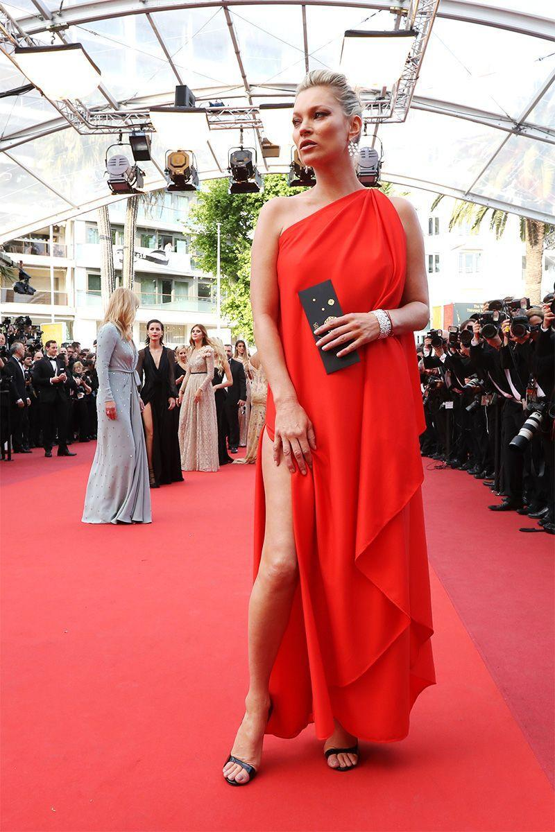 <p>Kate Moss in vintage Halston</p>