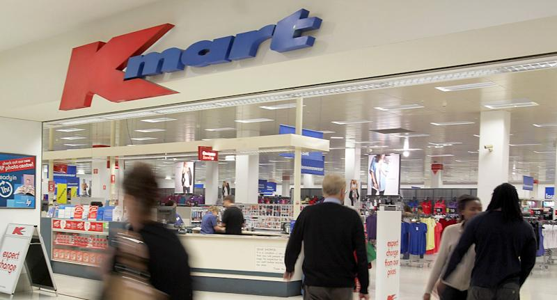 A file pic of a Kmart store.