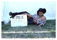 """<p>""""My style is whatever the f*** I want it to be. You heard!"""" -Rushelle Peterkin, 22, Plainfield, NJ. (Photo: Corey Presha for Yahoo Style) </p>"""