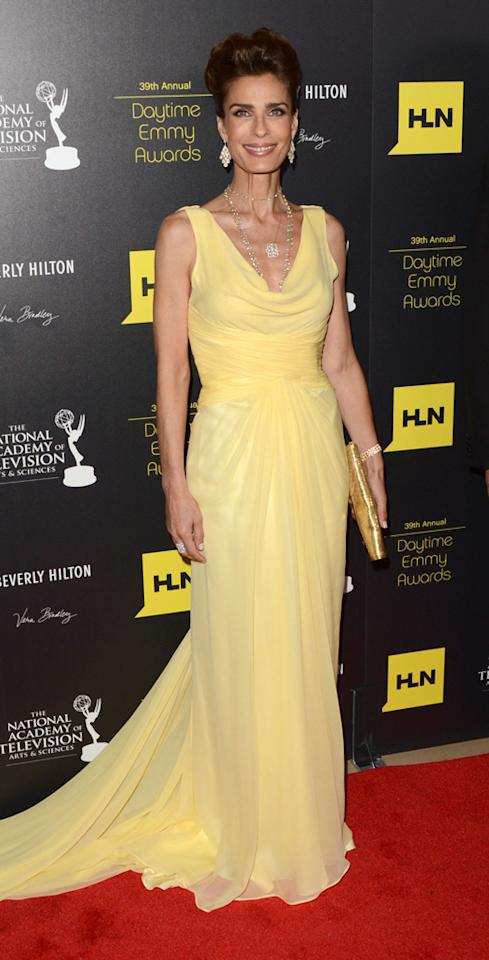 Kristian Alfonso arrives at The 39th Annual Daytime Emmy Awards held at The Beverly Hilton Hotel on June 23, 2012 in Beverly Hills, California.