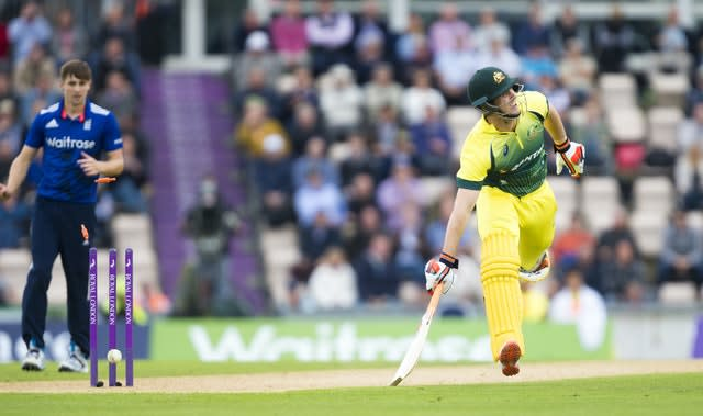 Mitchell Marsh has a top score of 36 in 14 IT20s for Australia