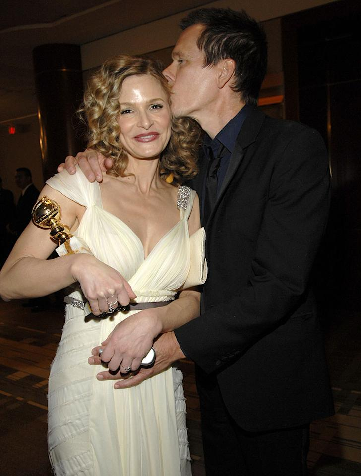 """<a href=""""/kyra-sedgwick/contributor/32709"""">Kyra Sedgwick</a> and <a href=""""/kevin-bacon/contributor/29114"""">Kevin Bacon</a> at the In Style and Warner Bros. 2007 Golden Globe After Party."""