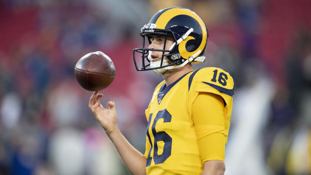 Jared Goff's play isn't matching his elite QB salary. (AP Photo/Kyusung Gong)