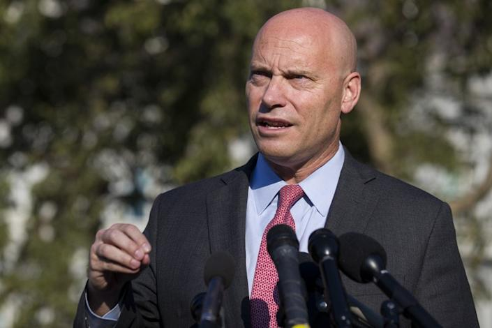 Marc Short, chief of staff to Vice President Mike Pence (AP Photo/Alex Brandon, File)