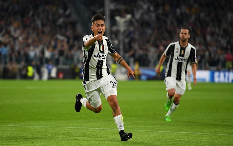 Dybala - Credit: Getty Images